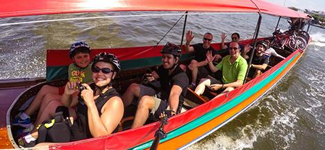 bang goes locals boat